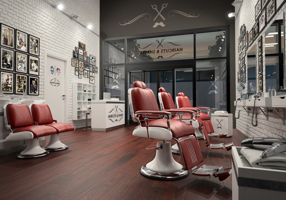 Interior | Barber Shop