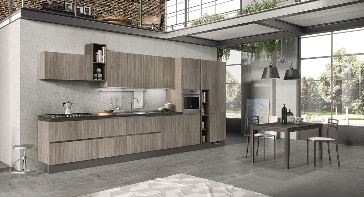 Kitchen Sira Giorgia Andrea Silvi